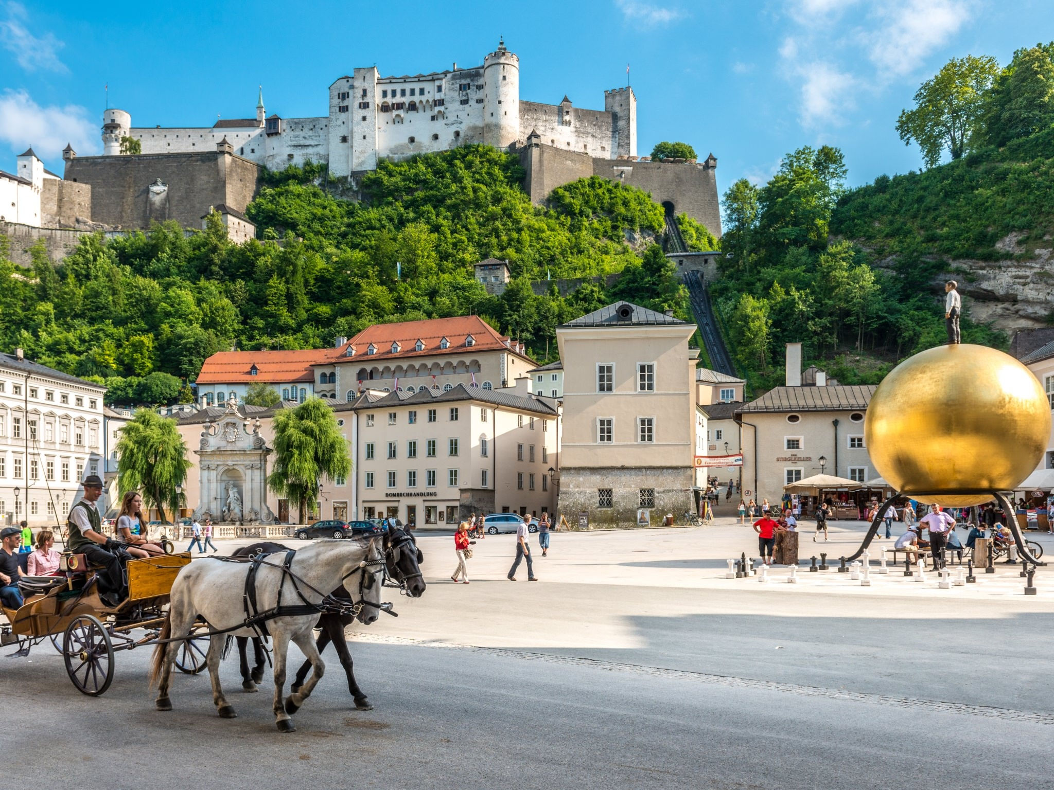 City Break in Salzburg - Hotel Goldener Hirsch